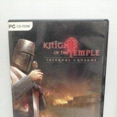 Videojuegos y Consolas: KNIGHTS OF THE TEMPLE CON INSTRUCCIONES. Lote 200558918
