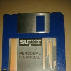 Videojuegos y Consolas: DISQUETE PC 3,5 PERSONAL FINANCIAL, DE LA REVISTA SUPER PC. Lote 200575172