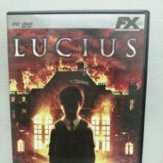 Videojuegos y Consolas: LUCIUS CON INSTRUCCIONES . Lote 200600305