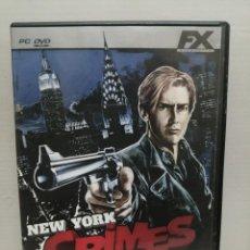 Videojuegos y Consolas: NEW YORK CRIMES CON INSTRUCCIONES . Lote 200600320