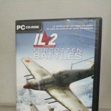 Videojuegos y Consolas: IL 2 FORGOTTEN BATTLES CON INSTRUCCIONES . Lote 200600485