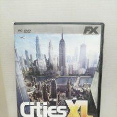Videojuegos y Consolas: CITIES XL CON INSTRUCCIONES . Lote 200600536
