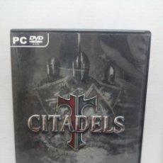 Videojuegos y Consolas: CITADELS CON INSTRUCCIONES . Lote 200600632