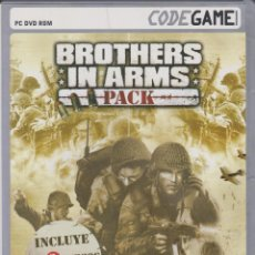 Videojuegos y Consolas: BROTHERS IN ARMS. PACK PC DVD ROM. Lote 200740708