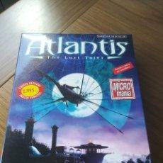Videojuegos y Consolas: ATLANTIS: THE LOST TALES AVENTURA GRAFICA PC CAJA DE CARTÓN 4 CD. Lote 201989113