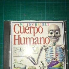 Videojuegos y Consolas: PC CD - MI INCREIBLE CUERPO HUMANO - CD-ROM PARA PC Y MAC - ZETA MULTIMEDIA. Lote 202034875