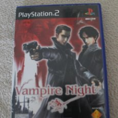Videojuegos y Consolas: VAMPIRE NIGHT PLAYSTATION 2 IDIOMA INGLES. Lote 202105146