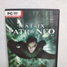 Jeux Vidéo et Consoles: MATRIX PATH OF NEO - JUEGO PC. Lote 202825432
