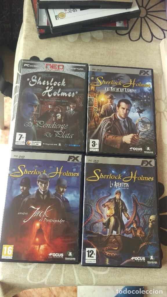 SAGA DE JUEGOS SHERLOCK HOLMES (Juguetes - Videojuegos y Consolas - PC)