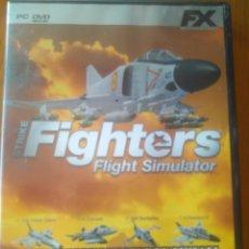 Videojuegos y Consolas: JUEGO PC STRIKE FIGHTERS FLIGHT SIMULATOR. SIMULADOR AVIONES AVIACIÓN FX INTERACTIVE. Lote 202967412