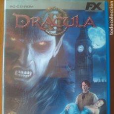 Videojuegos y Consolas: FX JUEGO PC. DRÁCULA- DOS DISCOS, COMPLETO CON LA GUÍA. Lote 202970993