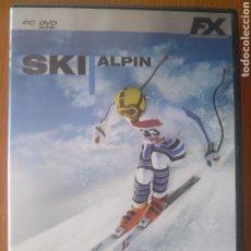 Videojuegos y Consolas: FX/ PC DVD SKI ALPIN . COMPITE EN PISTAS DE TODO EL MUNDO. A PARTIR DE 3 AÑOS. Lote 202972043