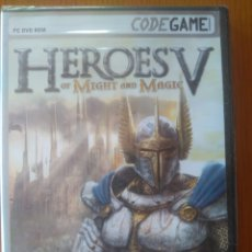 Videojuegos y Consolas: CODE GAME/ PC DVD ROM- HEROES V OF MIGHT AND MAGIC. EN CASTELLANO. NUEVO PRECINTADO. Lote 202972597