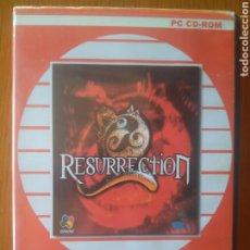 Videojuegos y Consolas: JUEGO PC CD ROM- RESURRECTION -EN CASTELLANO VIVE EL REGRESO DEL DRAGÓN NEGRO. Lote 202973841