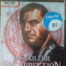Videojuegos y Consolas: JUEGO PC DVD PAINKILLER RESURRECTION. SI EXISTE UN DIOS ESTÁ EN CONTRA TUYA. JUEGO DE ACCIÓN. Lote 202974665