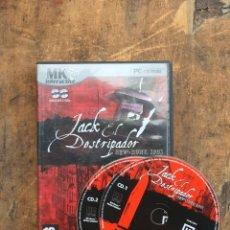 Videojuegos y Consolas: JACK EL DESTRIPADOR NEW YORK 1901 - MICROIDS 2004 SIN MANUAL. Lote 203423682