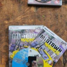 Videojuegos y Consolas: MIDTOWN MADNESS - UBISOFT 1999 COMPLETO. Lote 203425597
