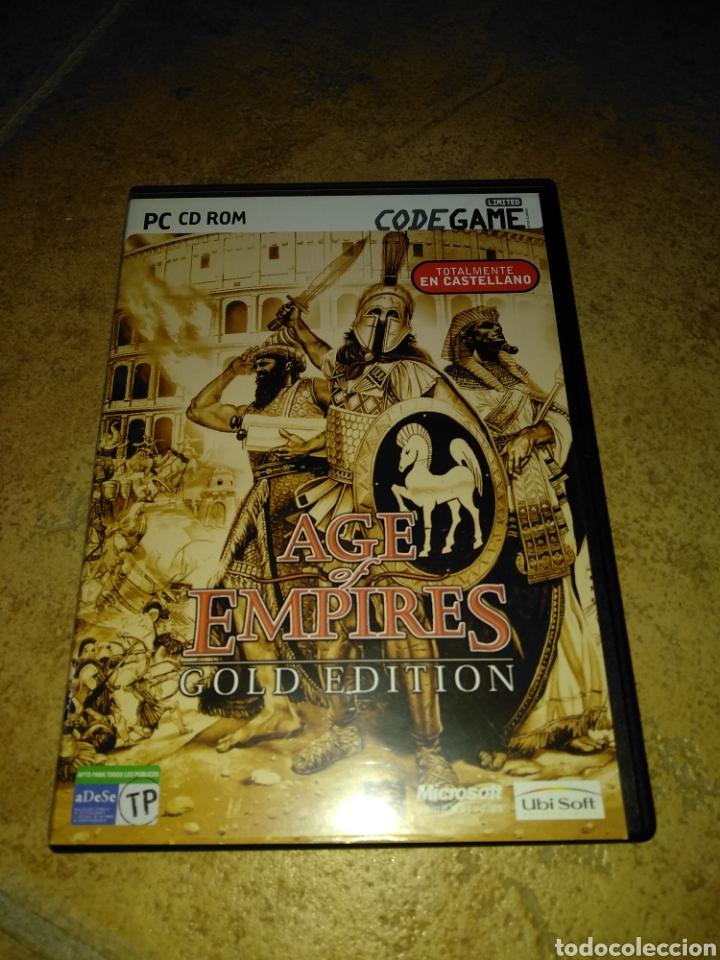 AGE OF EMPIRES GOLD EDITION (Juguetes - Videojuegos y Consolas - PC)