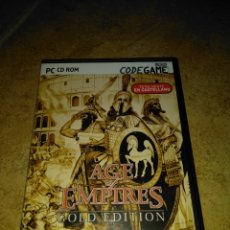 Videojuegos y Consolas: AGE OF EMPIRES GOLD EDITION. Lote 203794535