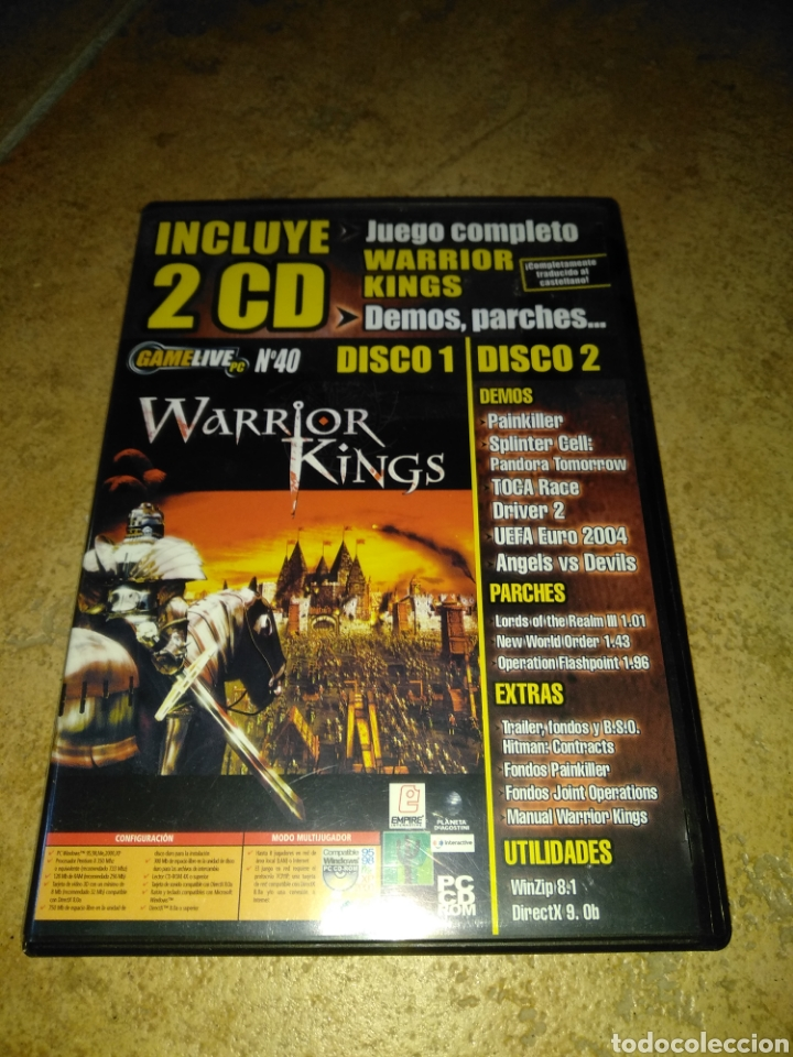 Videojuegos y Consolas: Warrior Kings - Foto 1 - 203794788