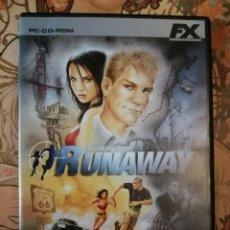 Videojuegos y Consolas: RUNAWAY PC. Lote 203858867