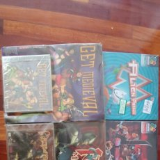 Videojuegos y Consolas: LOTE DE 6 JUEGOS DE PC DINAMIC AÑOS 90 BIG BOX BLISTER .NUEVOS SIN ABRIR COLECCION. Lote 203901107