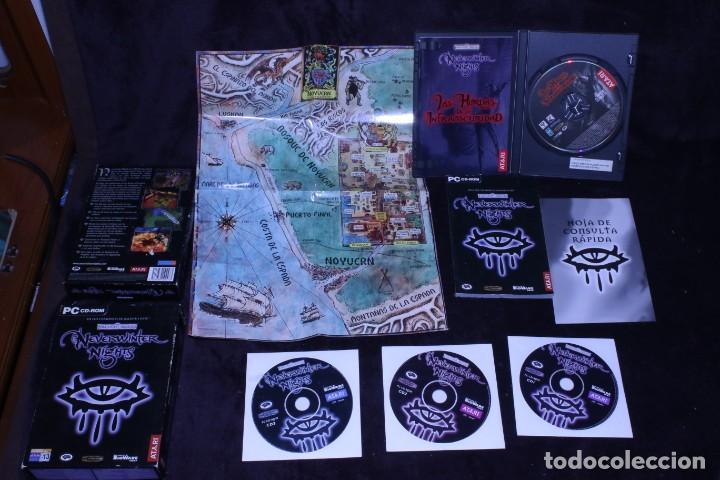 FORGOTTEN REALMS NEVERWINTER NIGHTS LAS HORDAS DE LA OSCURIDAD LOTE VIDEOJUEGOS ROL PC (Juguetes - Videojuegos y Consolas - PC)