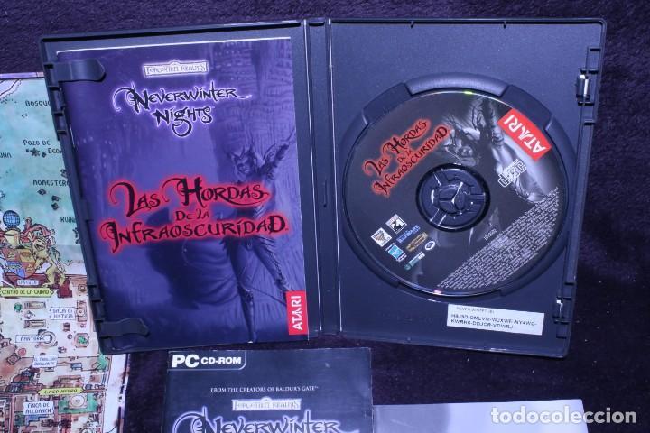 Videojuegos y Consolas: forgotten realms neverwinter nights las hordas de la oscuridad lote videojuegos rol pc - Foto 2 - 203950132