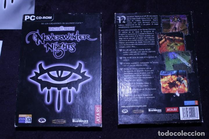 Videojuegos y Consolas: forgotten realms neverwinter nights las hordas de la oscuridad lote videojuegos rol pc - Foto 5 - 203950132