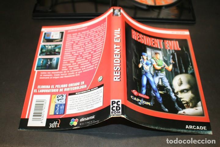 Videojuegos y Consolas: Resident Evil. PC CD-ROM. Capcom. Arcade - Foto 4 - 203969498