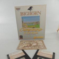 Videojuegos y Consolas: BIGHORN LINKS CHAMPIONSHIP COURSE VERSIÓN MACINTOSH. Lote 204243311