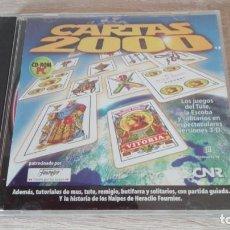 Videogiochi e Consoli: CARTAS 2000-PC CD ROM-GRUPO ZETA-AÑO 2000.. Lote 204248228
