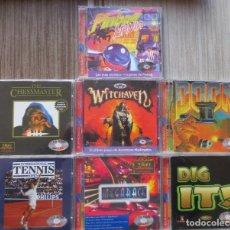 Videojogos e Consolas: LOTE DE 7 ANTIGUOS JUEGOS PARA PC.. Lote 204355277