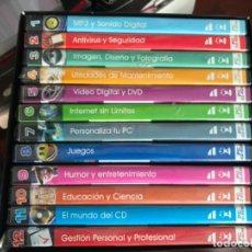 Videojuegos y Consolas: LOS 1000 MEJORES PROGRAMAS PARA TU PC EL MUNDO, SOFTONIC, MICROSOFT 12 CDS PAA PC. Lote 204700440