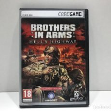 Videojuegos y Consolas: BROTHERS IN ARMS HELL´S HIGHWAY - PC DVD ROM CODEGAME. Lote 204842323