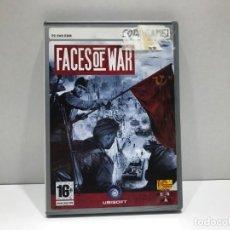 Videojuegos y Consolas: FACES OF WAR - PC DVD ROM CODEGAME. Lote 204842607