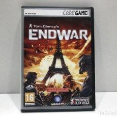Videojuegos y Consolas: TOM CLANCY´S ENDWAR - PC DVD ROM CODEGAME. Lote 204842722