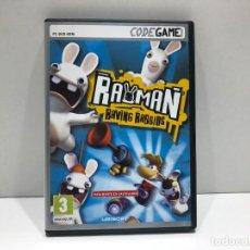 Videojuegos y Consolas: RAYMAN RAVING RABBIDS - PC DVD ROM CODEGAME. Lote 204842847
