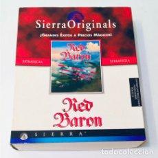 Videojuegos y Consolas: RED BARON [DYNAMIX] [1990 / 1997] [SIERRA ENT. / COKTEL EDUCATIVE] [PC CDROM] DOS WIN BARON ROJO. Lote 205132557