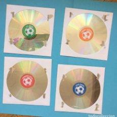Videojuegos y Consolas: 4 CD-ROM: SOCCER-FOOTBALL (NESTLÉ, 2003-2007) PC. NUEVOS ¡ORIGINALES!. Lote 205186796