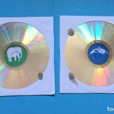 Videojuegos y Consolas: 2 CD-ROM: ANIMALES (NESTLÉ, 2004-2008) PC. NUEVOS ¡ORIGINALES!. Lote 205261162