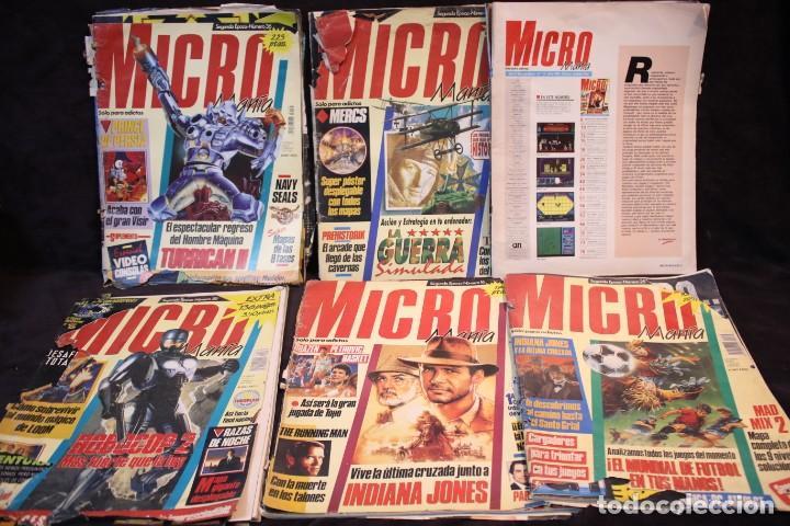 LOTE MICROMANIA REVISTAS PRIMERA EPOCA (Juguetes - Videojuegos y Consolas - PC)