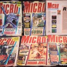 Videojuegos y Consolas: LOTE MICROMANIA REVISTAS PRIMERA EPOCA. Lote 205458438