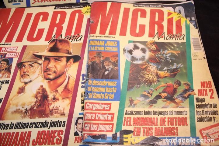Videojuegos y Consolas: lote micromania revistas primera epoca - Foto 2 - 205458438