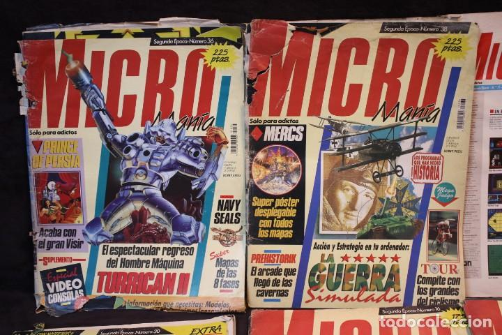 Videojuegos y Consolas: lote micromania revistas primera epoca - Foto 4 - 205458438