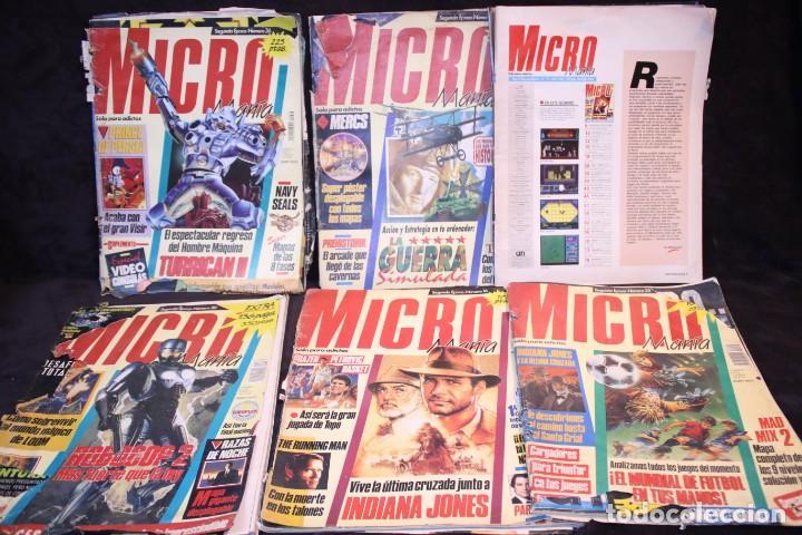 Videojuegos y Consolas: lote micromania revistas primera epoca - Foto 5 - 205458438