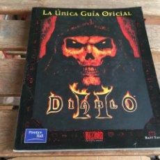 Videojuegos y Consolas: GUIA JUEGO DÍABLO II. DIABLO 2. PC. BUEN ESTADO. BLIZZARD.. Lote 205868485