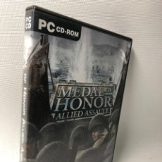 Videojuegos y Consolas: MEDAL OF HONOR ALLIED ASSAULT. Lote 206164585