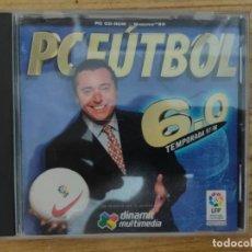Videojuegos y Consolas: JUEGO PC FUTBOL 6.0 CD-ROM (TEMPORADA 97-98) LICENCIA LFP - MICHAEL ROBINSON. Lote 206189547