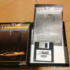 Videojuegos y Consolas: LAMBORGHINI - VIDEOJUEGO PC - AÑOS 90. Lote 206224161